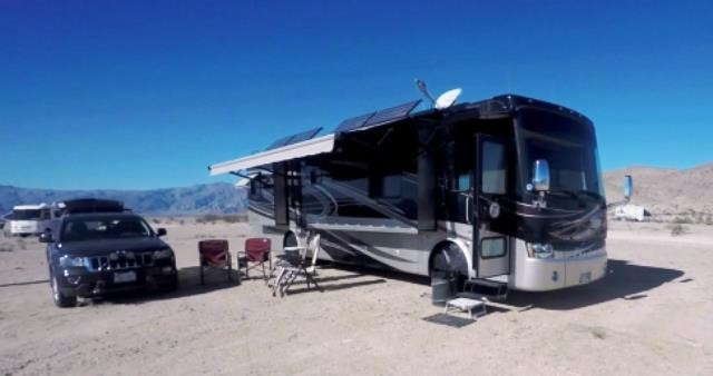 Boondocking in Borrego Springs, CA