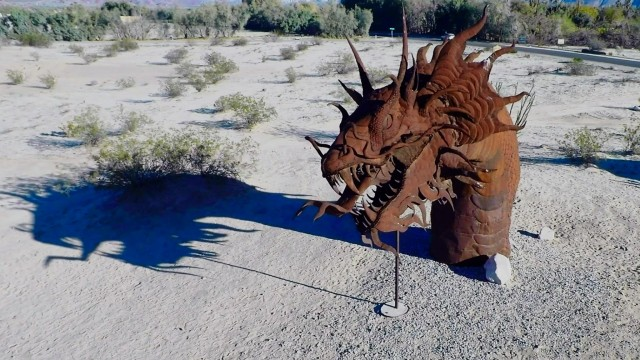 The Dragon at Borrego Springs, CA.