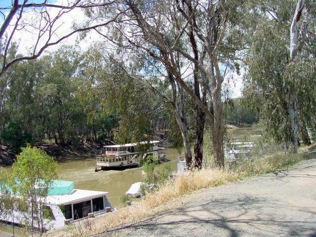 Steamboat on the Murray River