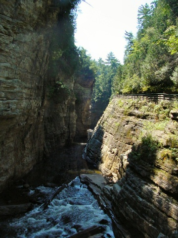 The AuSable Chasm