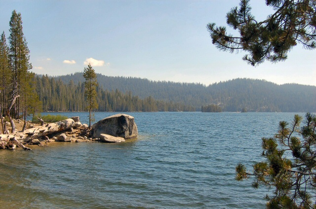 Huntington Lake from Rancheria Campground
