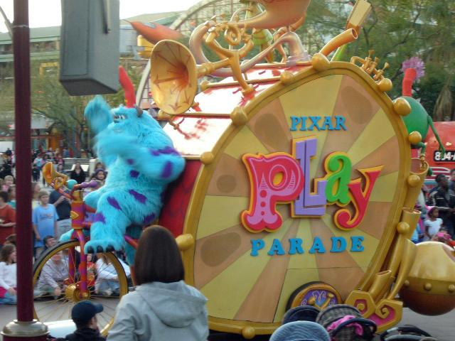 The Disney Pixar Parade