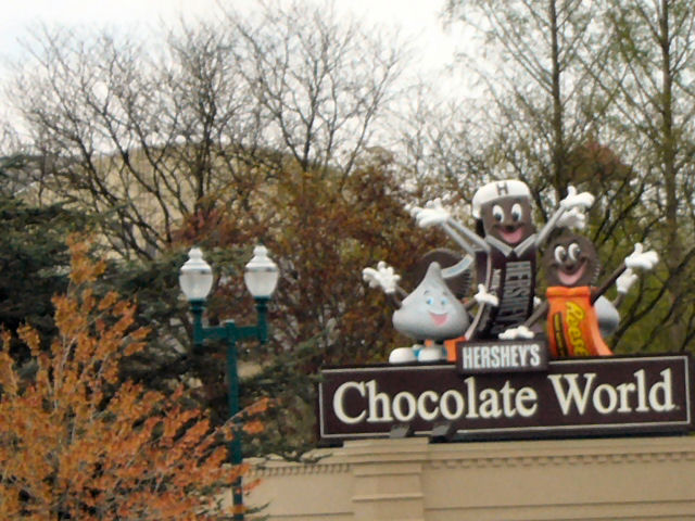 Hershey Chocolates, PA