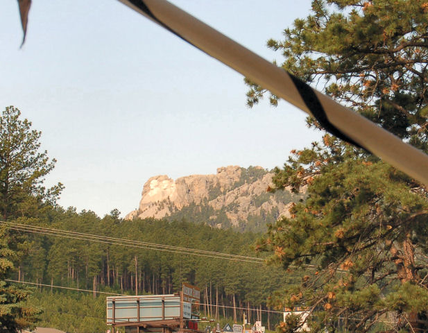 Mt Rushmore from our Keystone site.