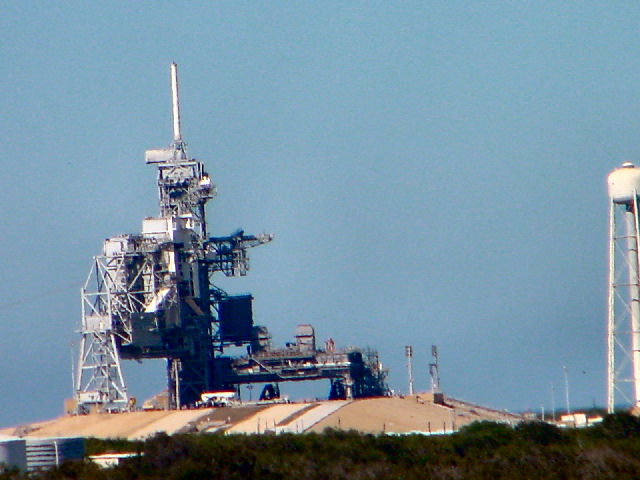LC-39B Space Shuttle Launch Facility.