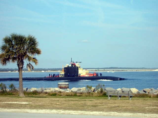 Submarine at Mayport, FL
