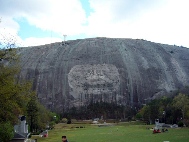 Stone Mountain and Memorial Carving