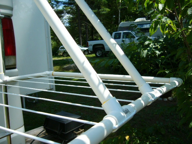 Details of the PVC Drying Rack