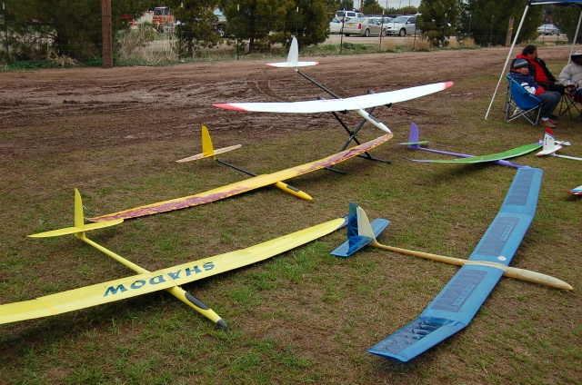 LARGE Radio Controlled Gliders.