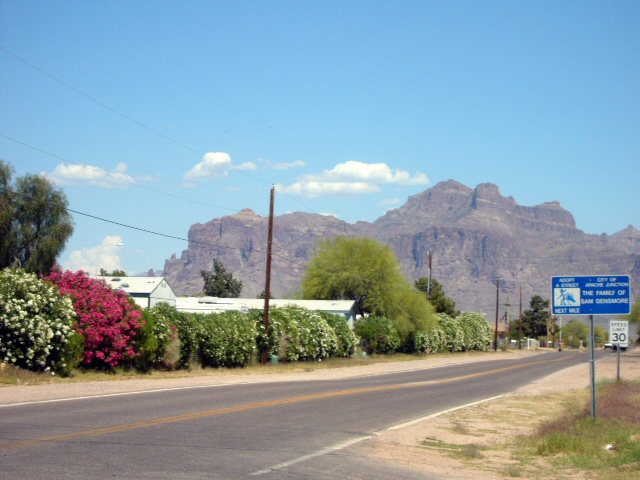 The Superstition Mountains, AZ