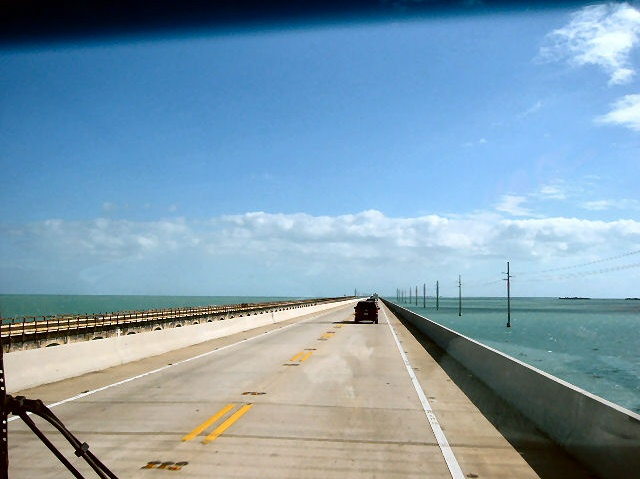Highway US-1 to Key West, FL.