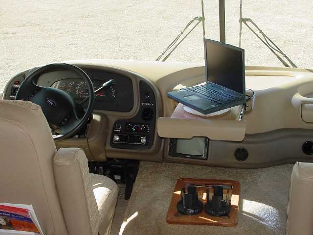 Navigation Laptop