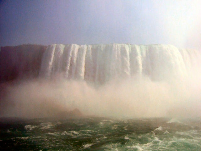 View from Maid of the Mist