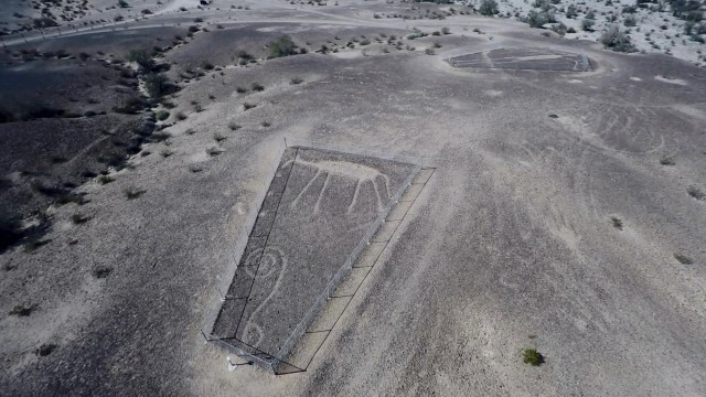 Aerial View of Ancient Intaglios