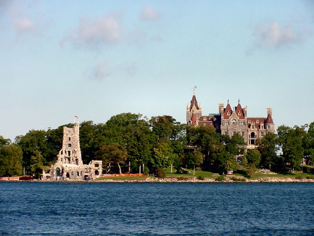 Heart Island and Boldt Castle