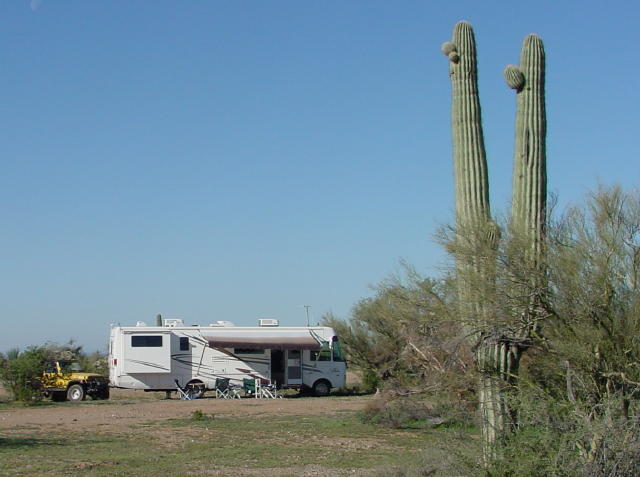 Camping on AZ State Trust Land