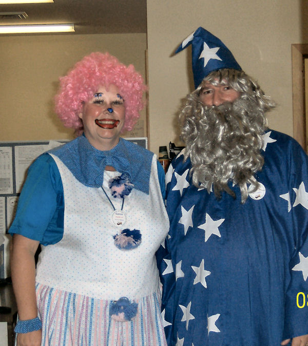 Larry & Connie - Halloween at Lake George Escape
