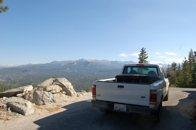 The Road to the High Sierra Mountains
