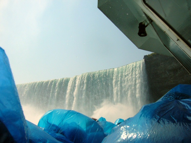 View from the Maid of the Mist